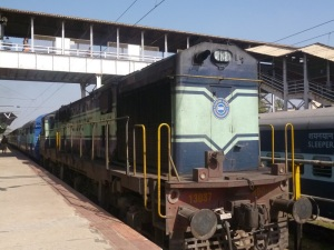 diesel locomotive of bengaluru - jaipur express